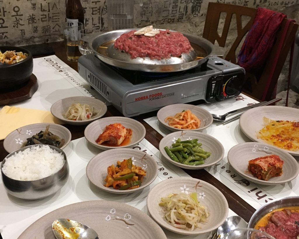 Restaurants coréens à Paris bulgogi
