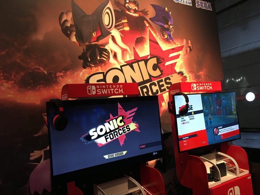 Paris Games Week 2017 - Sonic Forces