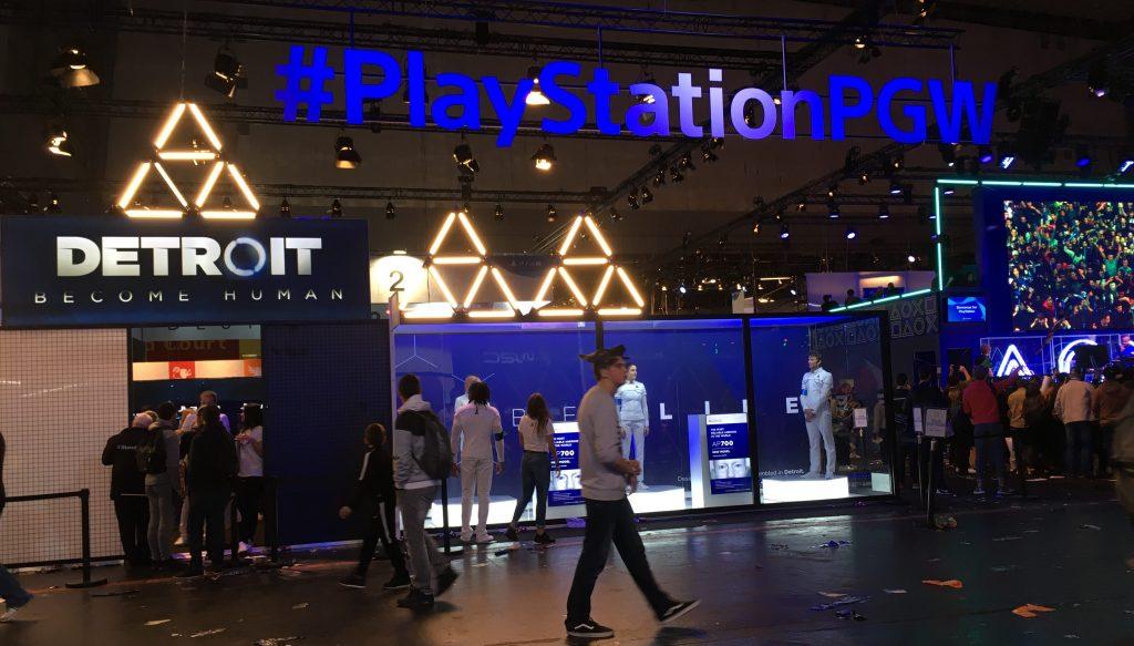 Detroit become Human - Paris Games Week 2017