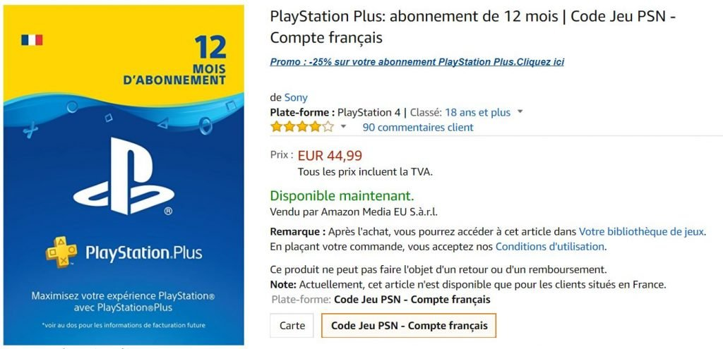 Playstation Plus Black Friday Week