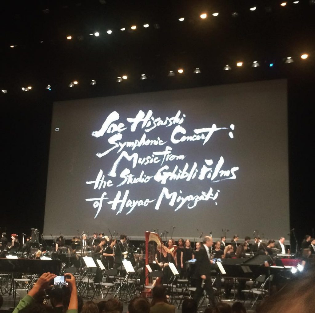 Joe hisaishi paris
