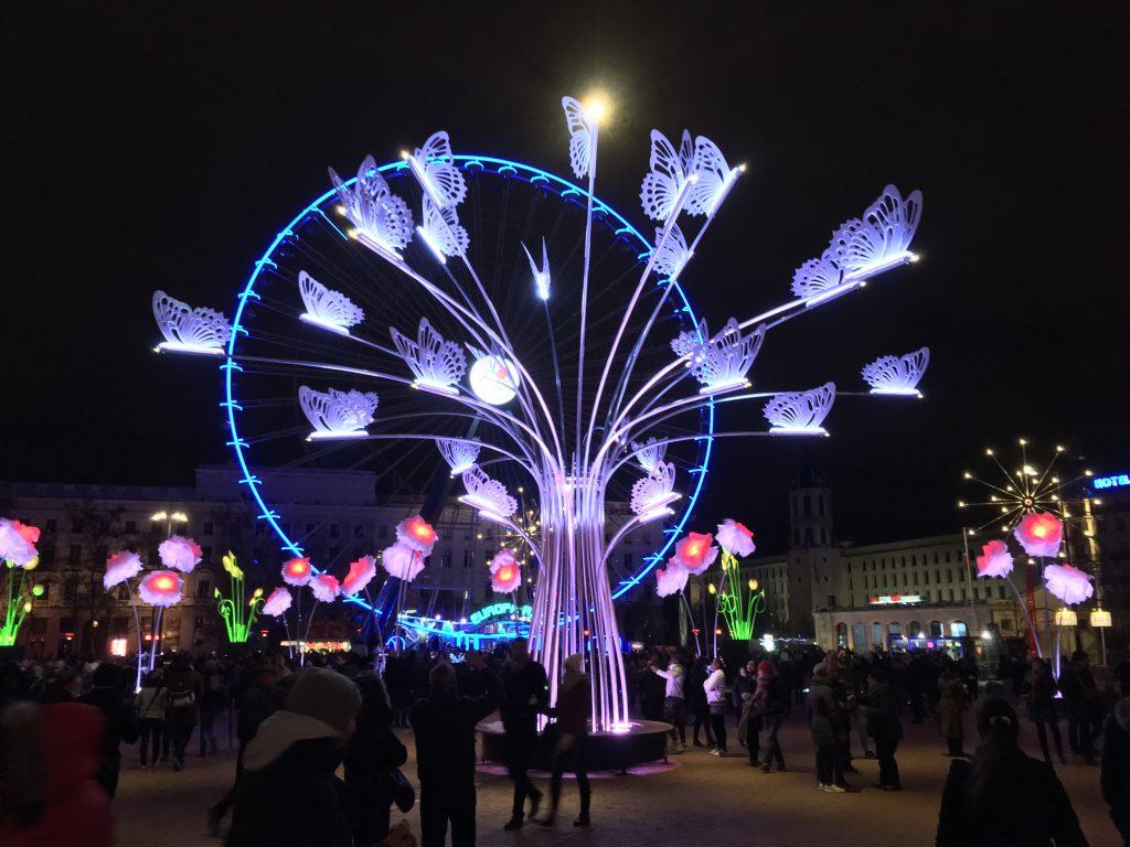 Place Bellcour - Fête des lumières
