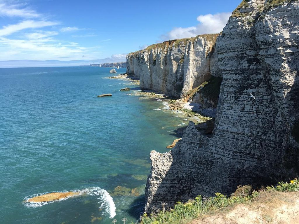 falaises etretat été 2017
