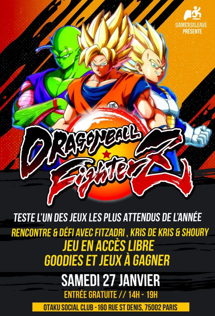 Otaku Social Club Dragon Ball FighterZ
