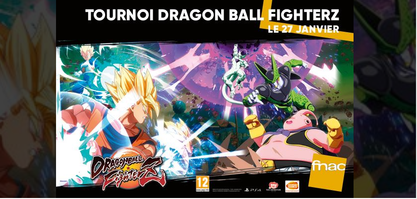 fnac dragon ball fighter z