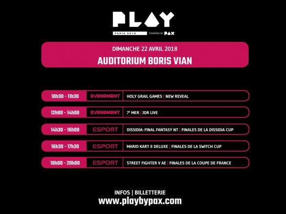 Le Play Paris powered by PAX dévoile son programme