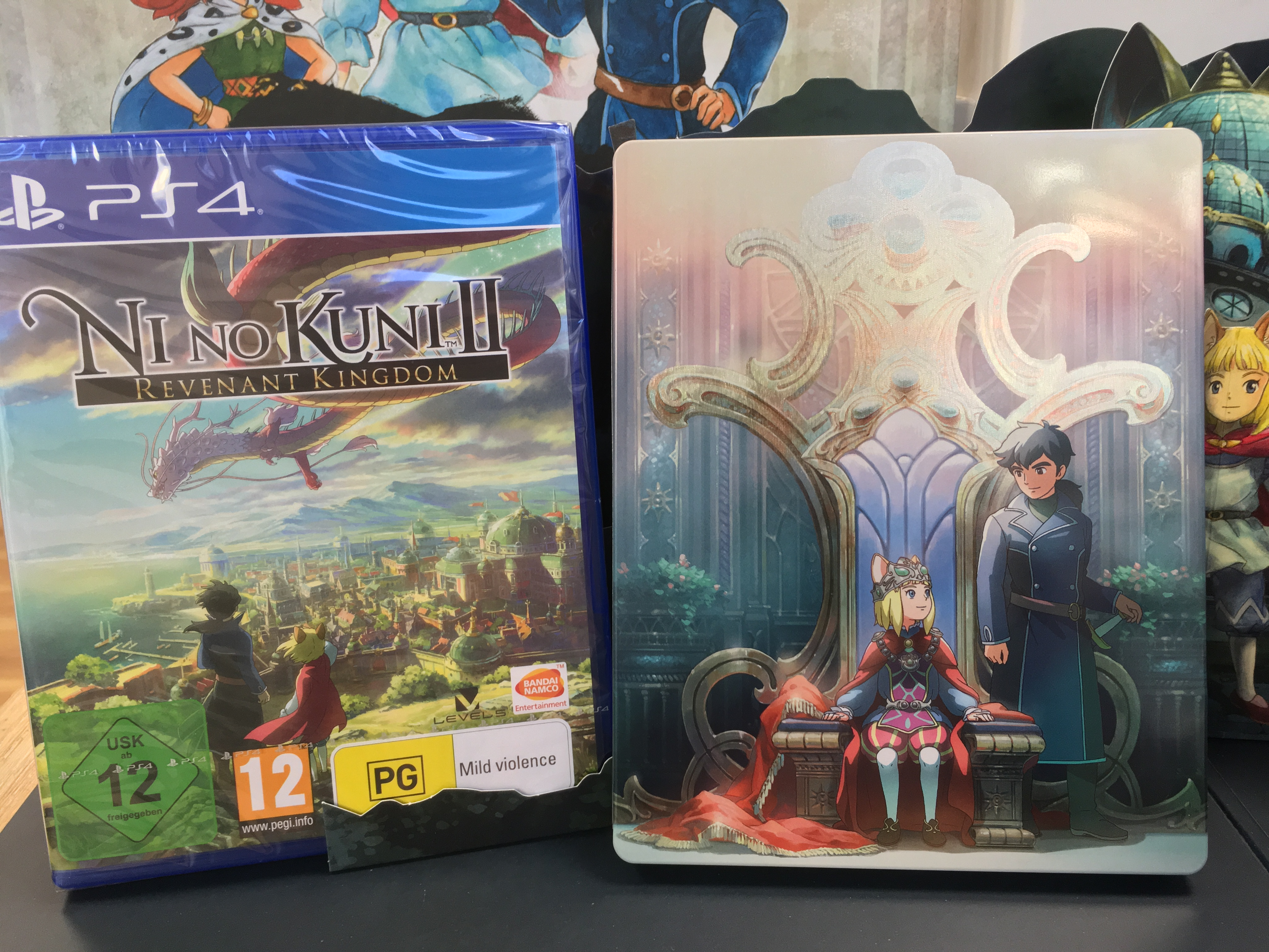 Ni No Kuni II l'Avènement d'un nouveau royaume steelbook
