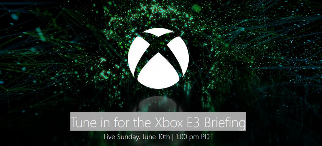 Xbox briefing E3