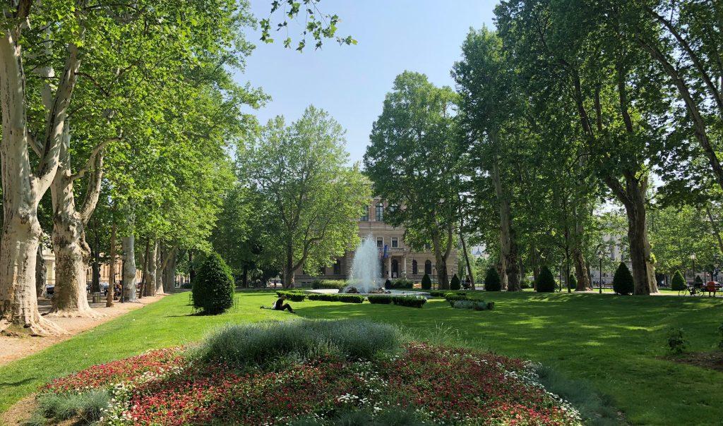 Zagreb - parc de Zrinjevac