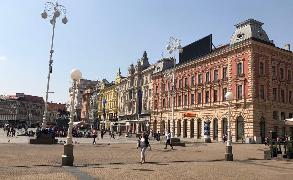 Zagreb - place Ban Jelačić