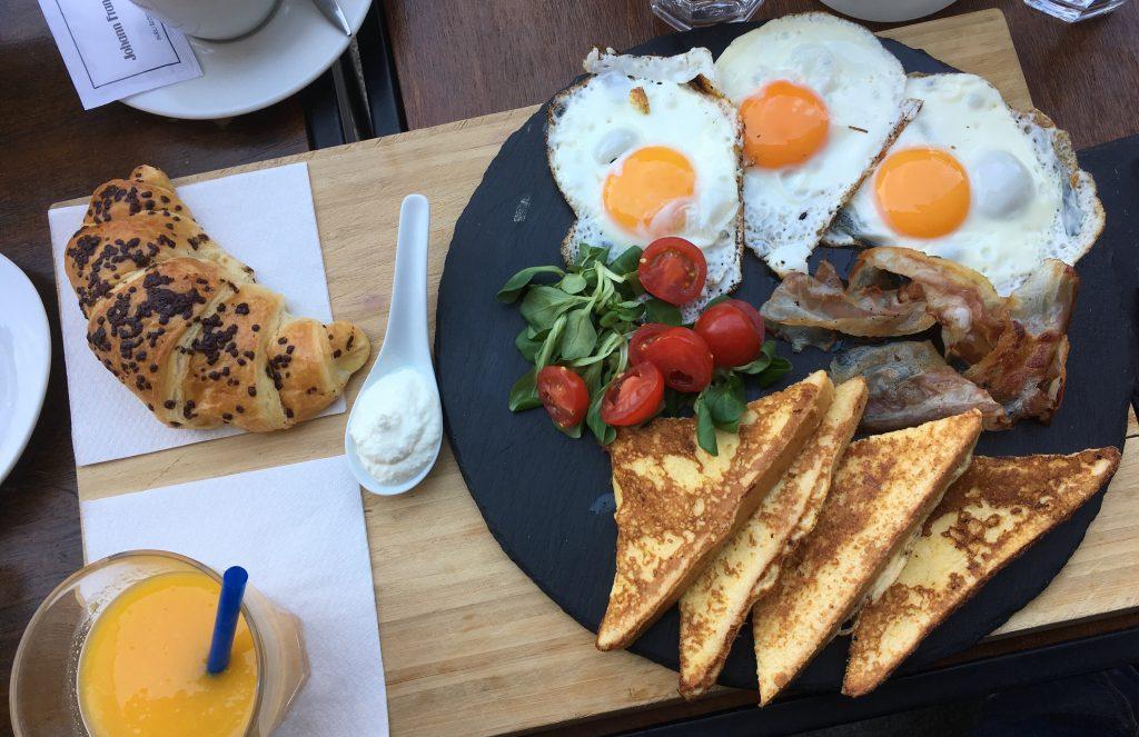 Petit dejeuner à Zagreb