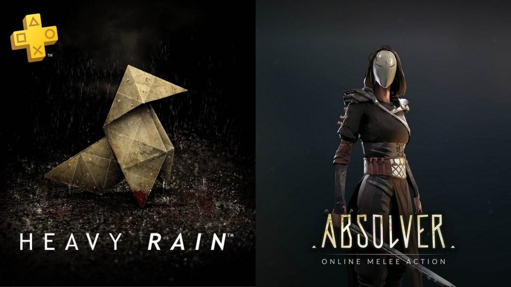 Absolver Heavy Rain Playstation Plus
