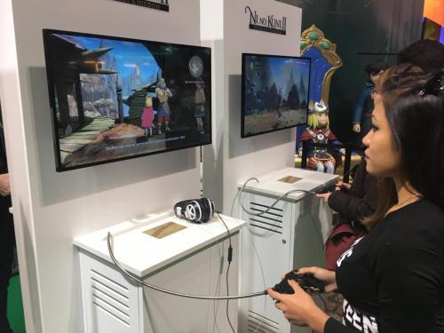 Ni No Kuni PGW - Gameplay