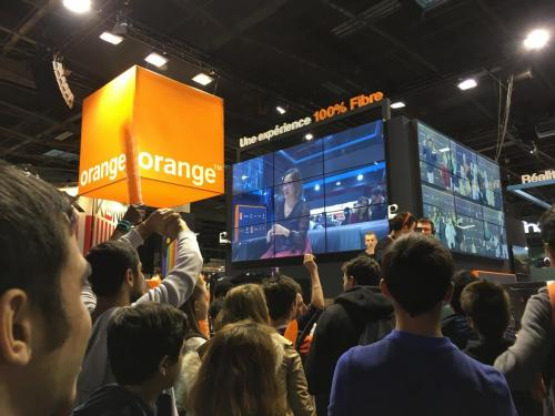 Paris Games Week 2017 - Orange